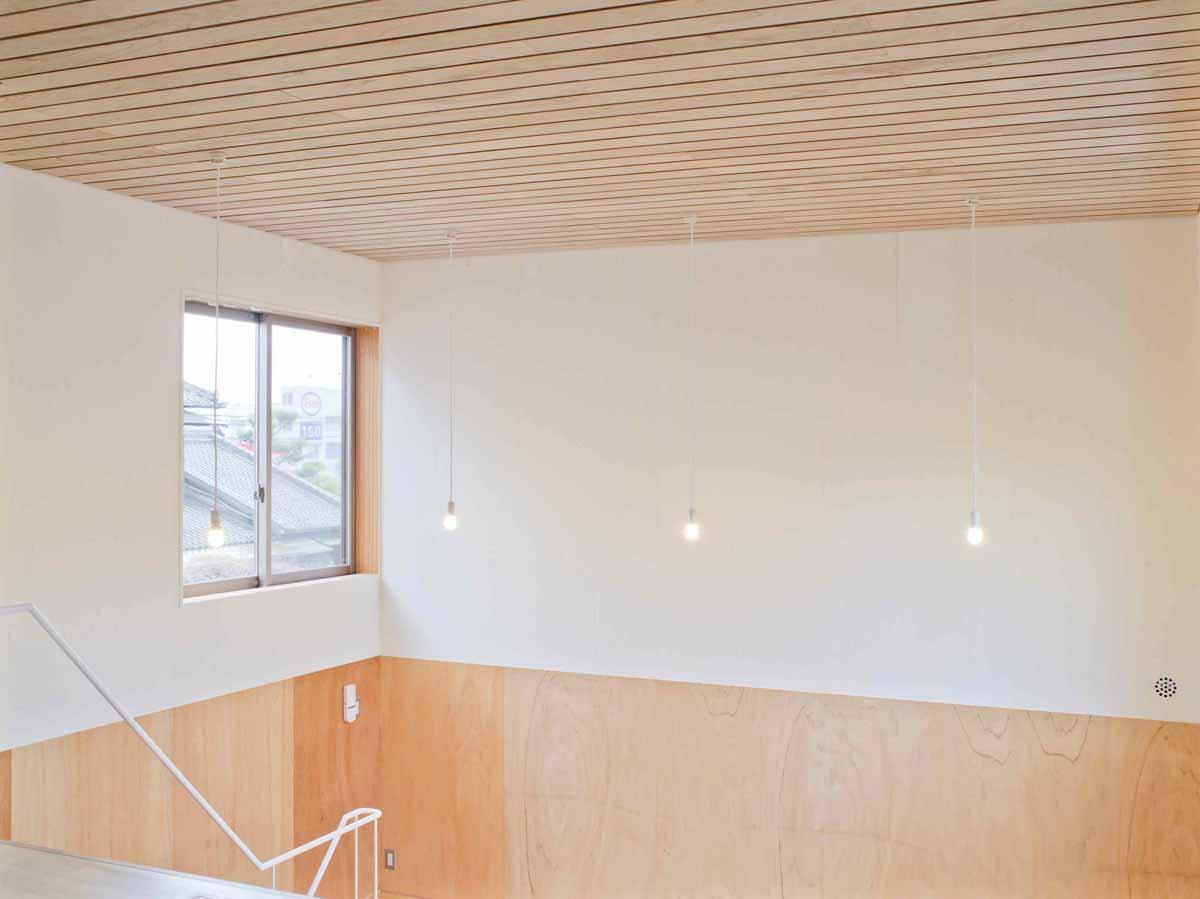 その他事例:天井の高い趣味室(高師浜の住宅 / HOUSE in Takashinohama)