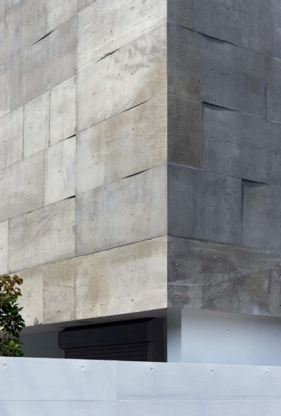 外壁(撮影:杉野圭建) (Tender concrete)