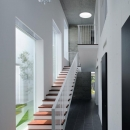 光を導く階段(撮影:杉野圭建)