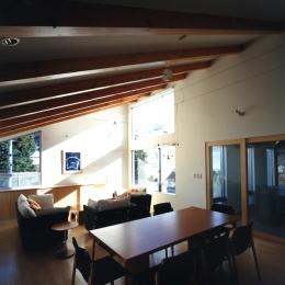 江古田の住宅-ダイニングルーム