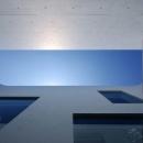 Tender concreteの写真 中庭より空を見上げる(撮影:杉野圭建)