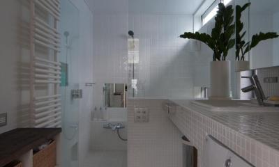 国領の家 (浴室)