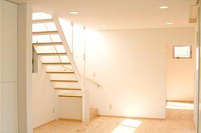 安東の家2(勝又邸) (明るい階段室)