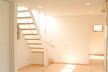 安東の家2(勝又邸)の部屋 明るい階段室