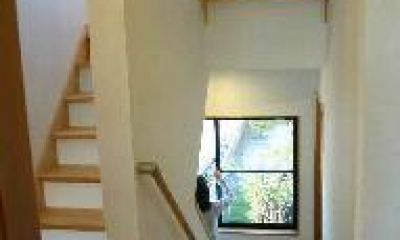 木格子の家