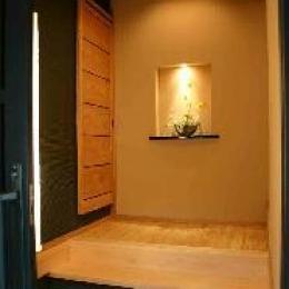 大屋の家 (玄関)