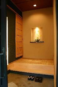 大屋の家の部屋 玄関