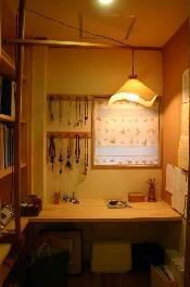 大屋の家の部屋 書斎