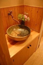 大屋の家の部屋 洗面