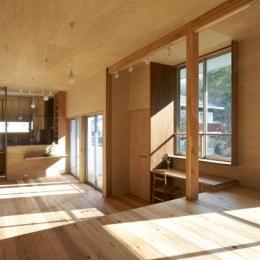 house n (木の温もり感じるLDK(撮影:鈴木美幸))