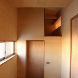 house n (ユニークなつくり(撮影:鈴木美幸))