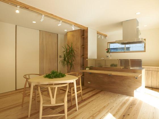 house nの部屋 老夫婦のダイニングキッチン(撮影:鈴木美幸)