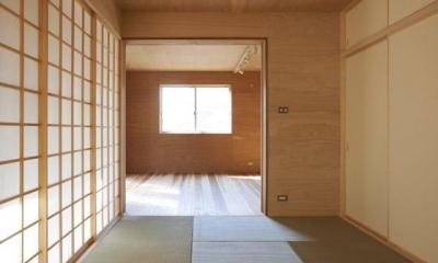 和室(撮影:鈴木美幸)|house n