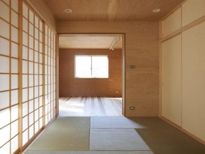 和室(撮影:鈴木美幸) (house n)