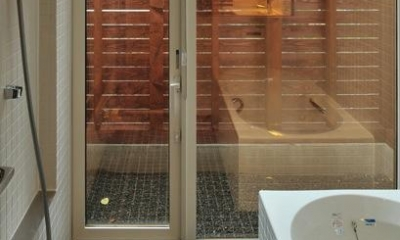緑感居 (浴室(撮影:KEN五島))