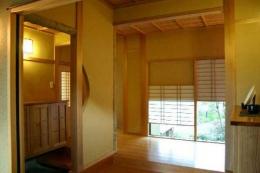 井野元邸 (玄関)