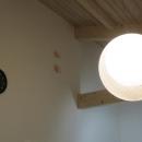 モダン和風のS邸の写真 リビングダイニングの照明