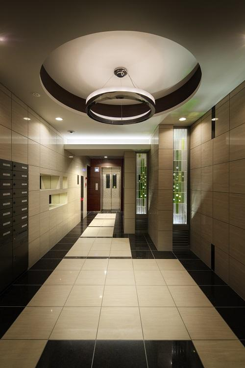 HM賃貸マンションの部屋 エントランス