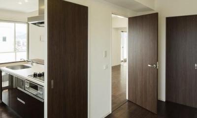 HM賃貸マンション (room1-リビング入口)