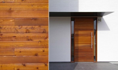 玄関-外観(撮影:寺嶋梨里)|西春の家