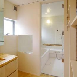 西春の家 (浴室(撮影:寺嶋梨里))