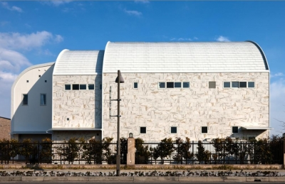 大阪・大理石の家 (外観2)