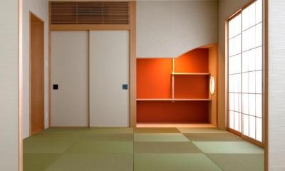 和室|大阪・大理石の家