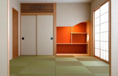 和室 (大阪・大理石の家)