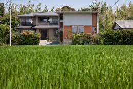 富里の家 (外観(撮影:新建築社))
