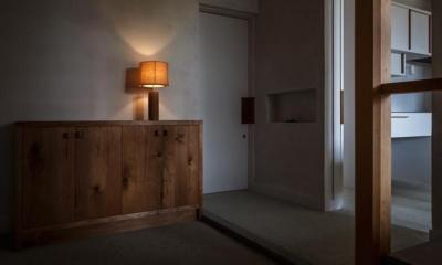 玄関(撮影:Ippei Shinzawa)|富里の家