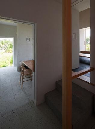 富里の家の部屋 スキップフロア(撮影:新建築社)