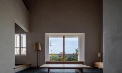富里の家 (リビング(撮影:Ippei Shinzawa))