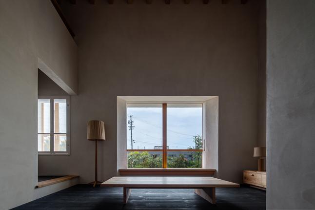 富里の家の部屋 リビング(撮影:Ippei Shinzawa)