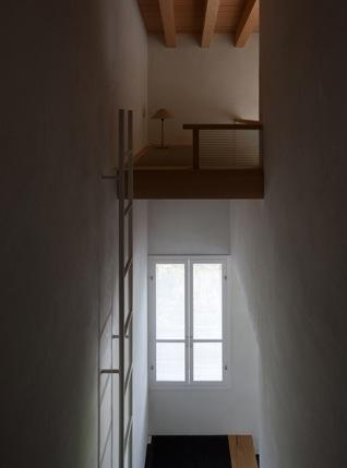 富里の家の部屋 ロフト(撮影:新建築社)
