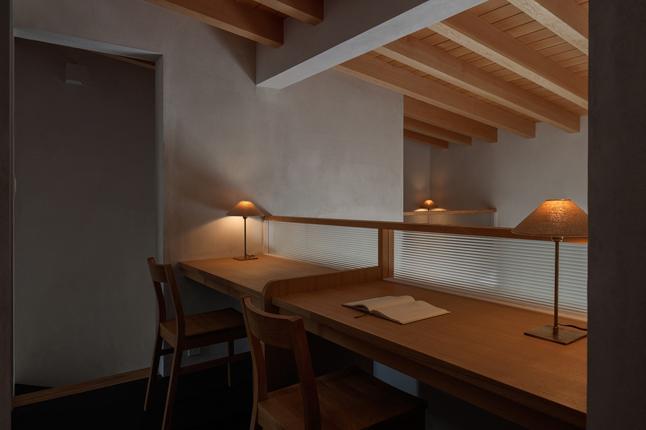 富里の家の部屋 スタディスペース(撮影:Ippei Shinzawa)