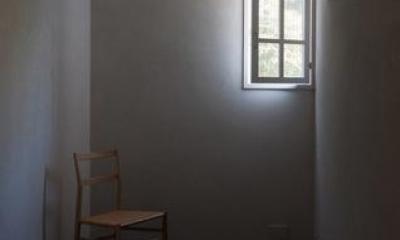 個室1(撮影:新建築社)|富里の家