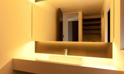 洗面所|宇津谷の家