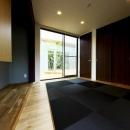 長坂篤の住宅事例「中庭を回遊する家」