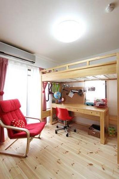 子供部屋 (アトリエにモダンリビングを N's HOME)