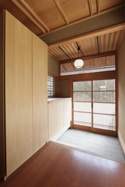 玄関 (京の奥座敷 M's HOME)