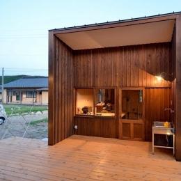 瑞浪の家 (陶芸アトリエ)