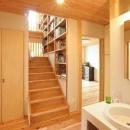武豊の家の写真 階段ホール