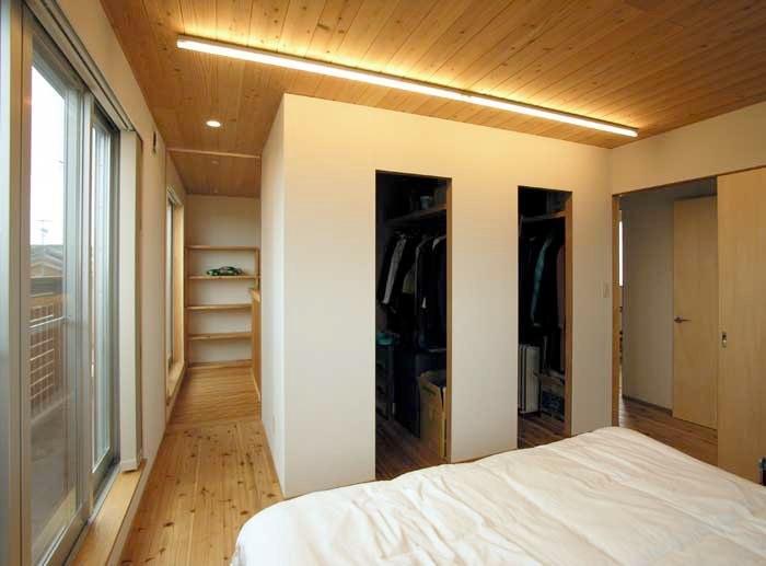 武豊の家の写真 ベッドルーム