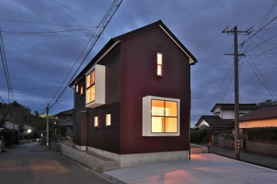 上津部田の家1 (外観)