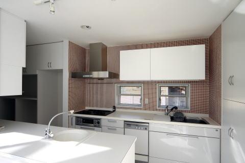 腰浜の家の写真 対面式キッチン