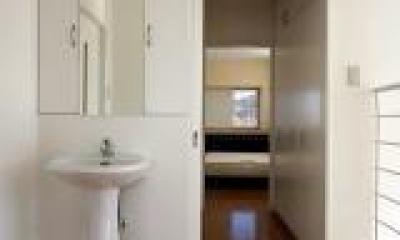 洗面スペース|腰浜の家