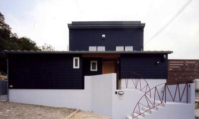 菩提寺の家 (外観2(撮影:絹巻豊))