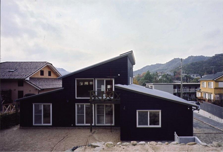 菩提寺の家 (外観3(撮影:絹巻豊))