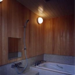 菩提寺の家 (浴室(撮影:絹巻豊))