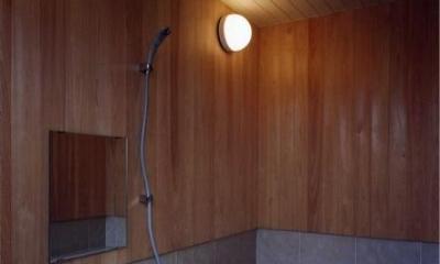 浴室(撮影:絹巻豊)|菩提寺の家